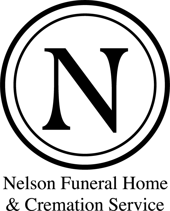 Nelsons Funeral Home Logo Vertical